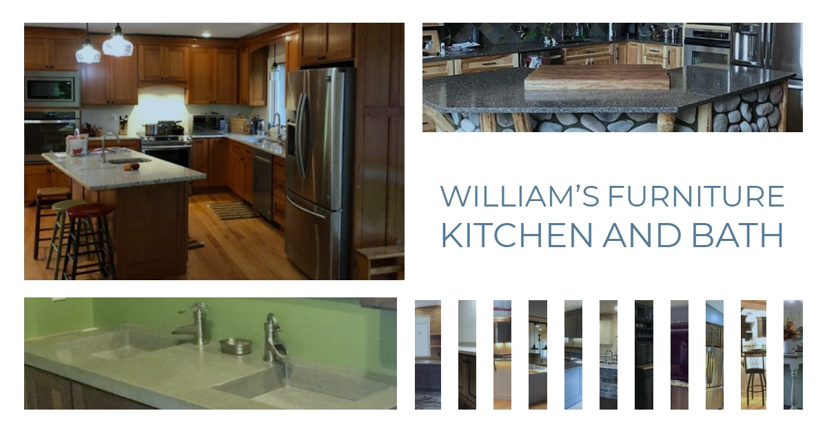 Williams Custom Kitchen & Bathroom Cabinets & Furniture In ...